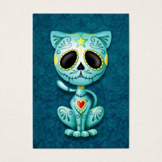 Blue Zombie Sugar Kitten