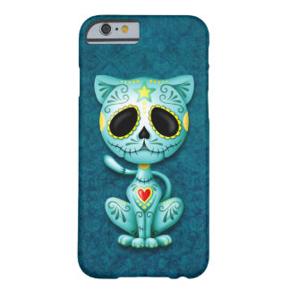 Blue Zombie Sugar Kitten Barely There iPhone 6 Case