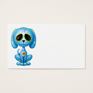 Blue Zombie Sugar Puppy Business Card