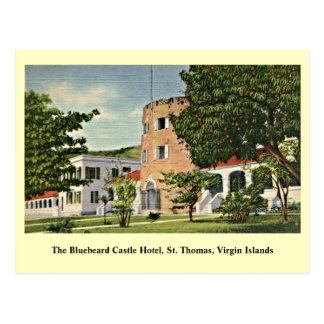 Bluebeard Castle St. Thomas Virgin Islands Postcard