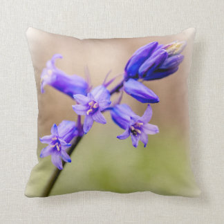 Bluebell cushion pillow