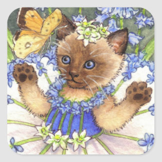 Bluebell Kitten stickers