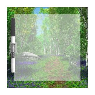 Bluebell Light Dry Erase Board