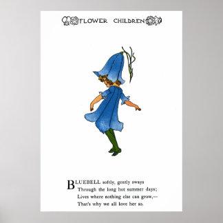 Bluebell Poster