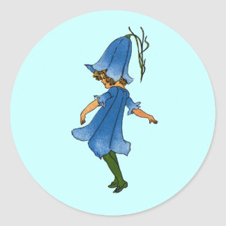 Bluebell Round Sticker