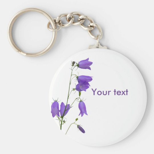 Bluebell text keychains