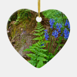 Bluebell wood christmas ornament