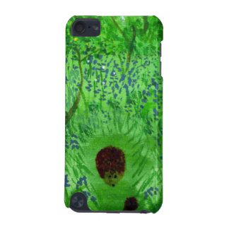 Bluebell Wood Hedgehog Painting iPod Touch 5G Case