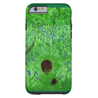 Bluebell Wood Hedgehogs Art Tough iPhone 6 Case