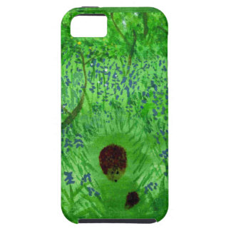 Bluebell Wood Hedgehogs Tough iPhone 5 Case