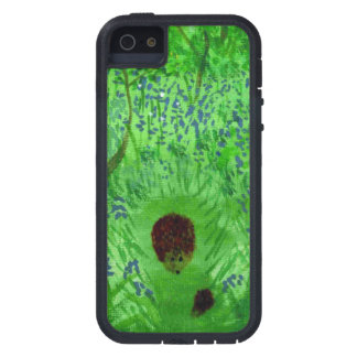 Bluebell Wood Hedgehogs Tough Xtreme iPhone 5 Case
