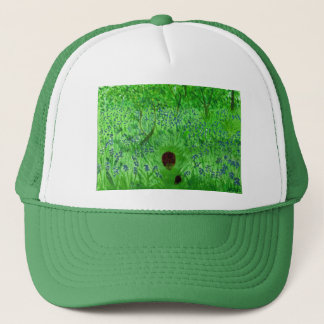 Bluebell Wood Hedgehogs Trucker Hat