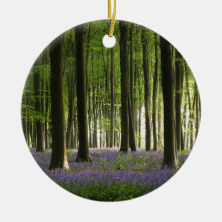 Bluebell Woodland Christmas Ornament