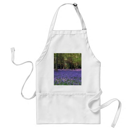 Bluebell Woods, England Apron
