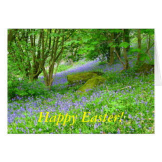 Bluebell Woods, Happy Easter! Card