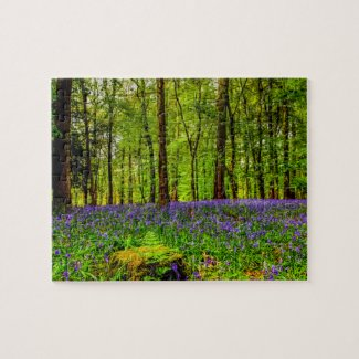 Bluebell Woods Jigsaw Puzzle