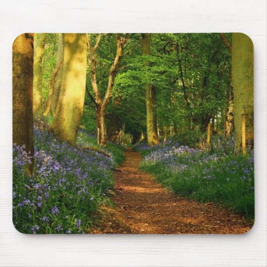 Bluebell Woods Mouse Mat