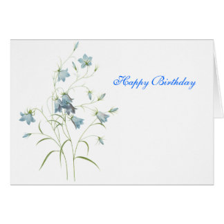 Bluebells-A Greeting Card