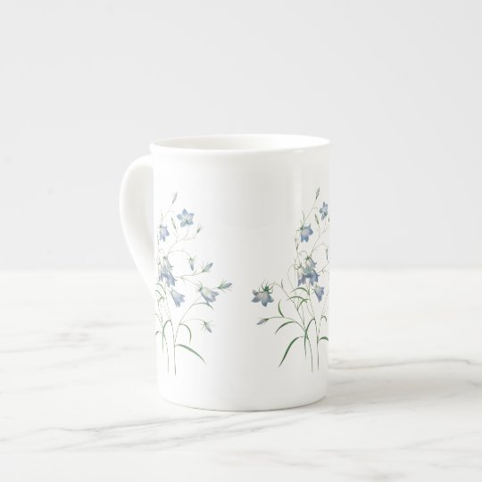 Bluebells by Redoute Botanical Bone China Mug