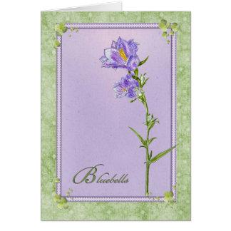 Bluebells Card