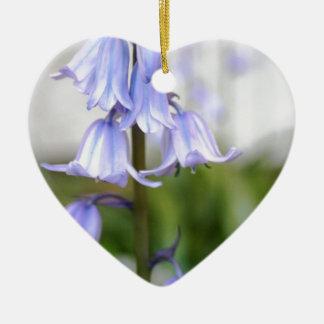Bluebells Ceramic Heart Decoration