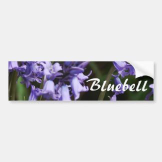 Bluebells Flowers Nature Floral Blue Flower Bumper Sticker