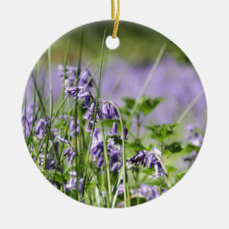 Bluebells In England Christmas Ornament