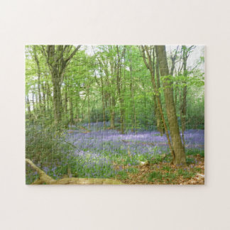 Bluebells in Woods Puzzle