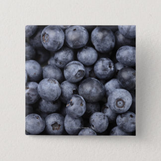 Blueberries 15 Cm Square Badge