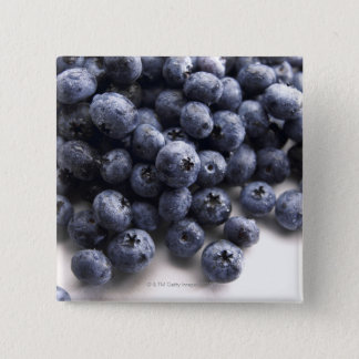 Blueberries 2 15 cm square badge