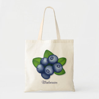 Blueberries Canvas Bags