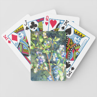Blueberries Bicycle Playing Cards