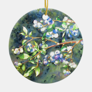 Blueberries Ornaments
