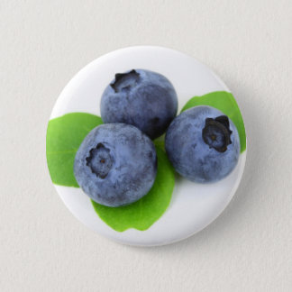 Blueberry 6 Cm Round Badge