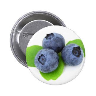 Blueberry 6 Cm Round Badge