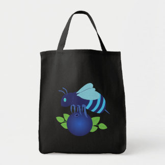 Blueberry Bee Tote Bag