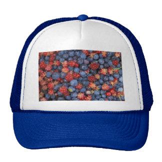 Blueberry Blue Colorful Fruit Food Sweet Destiny Cap