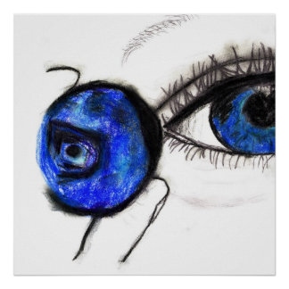 Blueberry, Blue Eye Poster