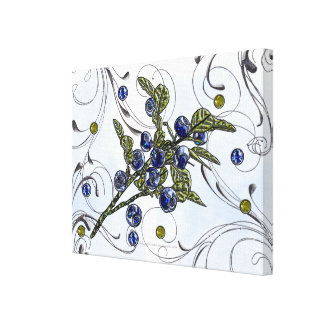 Blueberry Canvas Prints