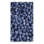 Blueberry Card Template Pack Of Standard Business Cards