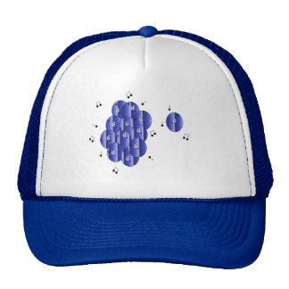 Blueberry Choir Cap