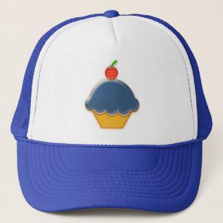 Blueberry Cupcake Art Trucker Hat