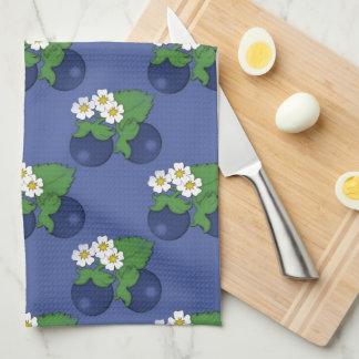 Blueberry Fruit Pattern Kitchen Towel