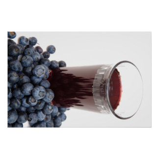 Blueberry juice posters