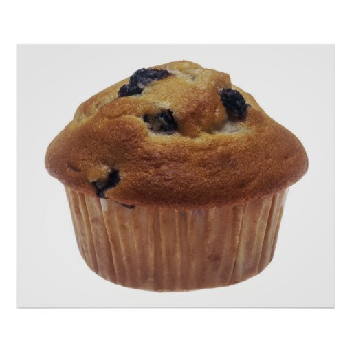 Blueberry Muffin Print