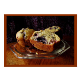 Blueberry Muffins Print