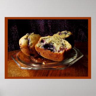 Blueberry Muffins Print