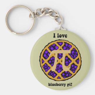 Blueberry pi basic round button key ring