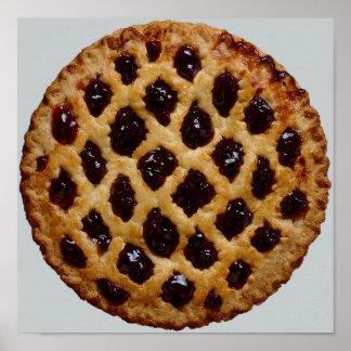 Blueberry Pie Poster