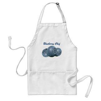 Blueberry Polka Dots Standard Apron